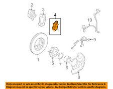 FORD OEM Brake-Front Pads 6U2Z2V001D
