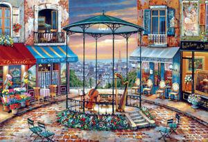 Puzzle Konzert am Abend, 6000 Teile, Kunst, Paris, Frankreich, Musik, Educa