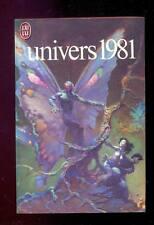 UNIVERS 1981 J'ai Lu 1208, 1981 couverture FRAZETTA Silverberg Sheckley Pohl SP