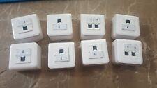 Lot of 8X Legrand FullRJ45Cat5 Cat6 Data Socket Outlet Gigabit Network