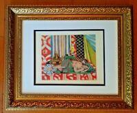 HENRI MATISSE ORIGINAL 1948 AWESOME PRINT MATTED 11 X 14 + LIST PRICE  $795