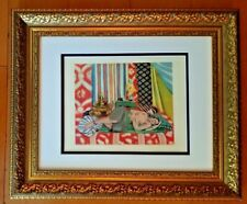 HENRI MATISSE ORIGINAL 1948 AWESOME PRINT MATTED 11 X 14 + LIST PRICE  $795