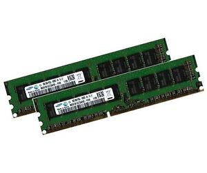 2x 8GB 16GB DDR3 ECC RAM UDIMM 1600 MHz HP Gen8 G1610T Workstation Microserver