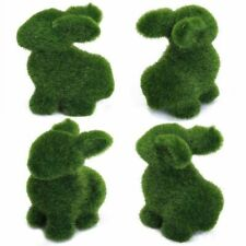 Easter Rabbit Artificial Turf Grass Home Ornaments Festive Party Creative Decors