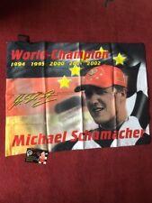 Micheal Schumacher Flag F1 World Champion