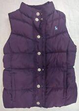 Old Navy Girl's Kids Fleece lined Zip Puffer Vest Sz Large Girls Purple