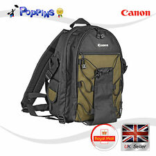 NEW Genuine Canon Deluxe Backpack 9246 200EG Case Bag for Camera DSLR SLR Lens