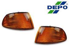 DEPO 92-95 HONDA CIVIC 2DR COUPE 3DR HATCHBACK EG JDM AMBER CORNER SIGNAL LIGHTS