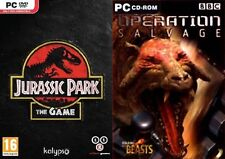 jurassic park the game & Walking With Beasts Operation Salvage