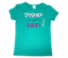 """Gymboree Girls Novelty Graphic """"Today Is Your Day"""" Shirt Sz 8 NWT School Fall"""