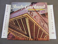JUDY GARLAND HOME AT THE PALACE OPENING NEW YORK 1967 1967 LP OVER THE RAINBOW