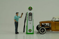 Tanksäule / petrol pump / pompe a essence Indian Gasoline 1:18 no car Figur