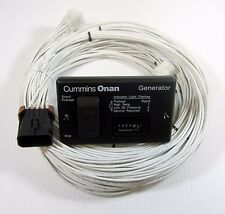 Onan RV Generator Diesel Remote Panel  With Hour Meter and 30 Ft Harness