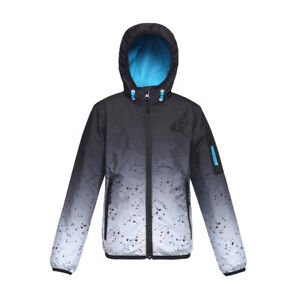 Rokka&Rolla Boys' Lightweight Hooded Windbreaker Rain Jacket Sizes 4-18