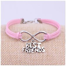 BEST FRIENDS charm bracelet (Breast Cancer Charity fundraiser )💕