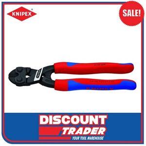 "Knipex 8"" 200mm CoBolt® Lever Action Mini-Bolt Cutter Comfort Grip 7102200"