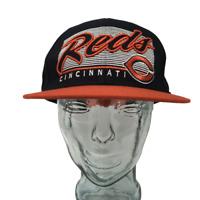 '47 Brand Cincinnati Reds Baseball Cap MLB Forty Seven Black Red OSFM Snapback