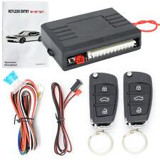 Universal Car 2 Central Remote Keyless Entry Door Locking Kit Vehicle System 12v