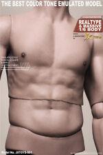 "JXtoys S01 1/6th 1/6 Scale JXtoys S01 Male Asian Muscular 12"" Figure Body"