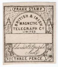 (I.B) British & Irish Magnetic Telegraph Company 3d (no control)