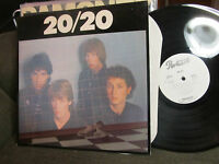 20/20 selftitled S/T PORTRAIT 1979 lp yellow pills new wave synth WLP PROMO rare