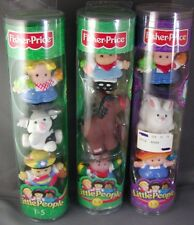 Fisher Price Little People Worker Tube farm bunny pig pony sarah michael new