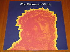 THE MOMENT OF TRUTH - SELF TITLED - 1974 ULTRA RARE STILL SEALED LP ! ! ! !