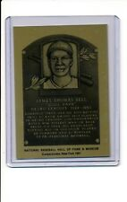 1981-89 HALL OF FAME METALLIC PLAQUE Cool Papa Bell NR-MT Negro League Legend
