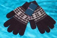 S 11 TOM FRANKS wool & angora mix super soft cosy ladies winter gloves