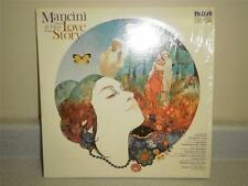 RECORD ALBUM- MANCINI PLAYS LOVE STORY 33 1/3 RPM- GOOD CONDITION- L134