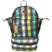 GLOBETROTTER CLEAN PLANET BACKPACK GREEN CHECK