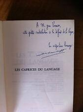 TEPPE J - Les caprices du langage. 250 difficultés de la langue française -