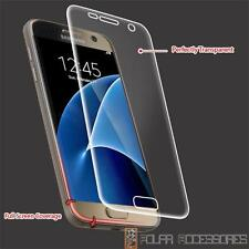 For SAMSUNG Galaxy S7 Clear Curve Edges LCD Screen Protector Film