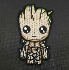 Baby Groot Embroidered Patch - Embroidery Patches Iron Sew On Marvel Comics