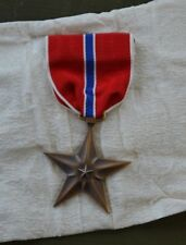 MEDAILLE AMERICAINE BRONZE STAR US WW2 100% ORIGINALE