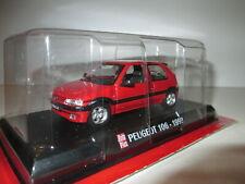 PEUGEOT 106 XSI Rouge de 1993 par Collection AutoPlus 1/43 NEUVE SOUS BLISTER