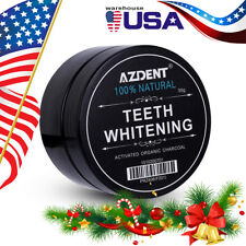 USA Whitening Powder Organic Activated Charcoal Bamboo Natural Teeth Whitener