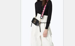 Brand new MARC JACOBS Snapshot Small Camera Bag BLACK MULTI bag sales
