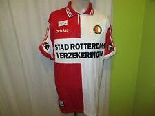 "Feyenoord Rotterdam Adidas Trikot 1995/96 ""STAD ROTTERDAM ..."" + Nr.10 Gr.L TOP"