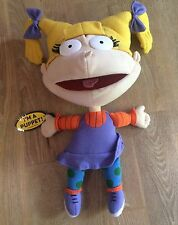 RARE RUGRATS ANGELICA HAND PUPPET SOFT TOY DOLL BY APPLAUSE DATED 1998