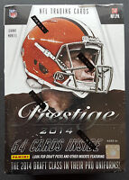 NFL Panini Prestige 2014 Football Blaster Sealed/OVP