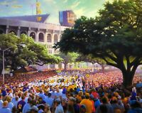 LSU Band, Down the Hill Signed & Numbered by RC Davis