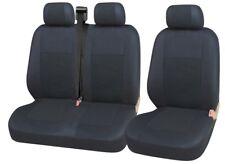 Sitzbezüge Schonbezüge 2+1 Schwarz Schwarz Hochwertig für Ford Renault Toyota