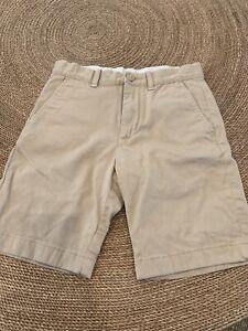 J.crew Crewcuts Tan Cotton Shorts Size 8