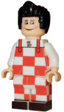 **NEW** LEGO Custom Printed - BIG BOY - Restaurant Mascot Minifigure