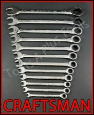 Craftsman Hand Tools 23pc Full Polish Sae & Metric Mm Ratcheting Box Wrench set