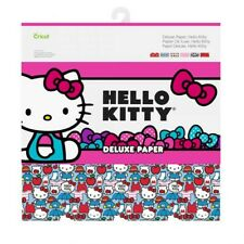 Cricut Hello Kitty Deluxe Paper 12 Print, Solid Back Create Cupcake Wrappers ETC