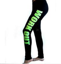 HOT Fasion Women Legging Capri Yoga Gym Running Fitness Trouser Sports Pants S3