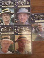 5x AGATHA CHRISTIE MISS MARPLE VHS VIDEO BUNDLE-BBC DRAMA Sleeping Murder,4.50 F