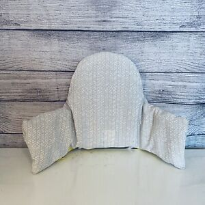 Ikea Antilop Baby High Chair Cover Gray White 604.543.71